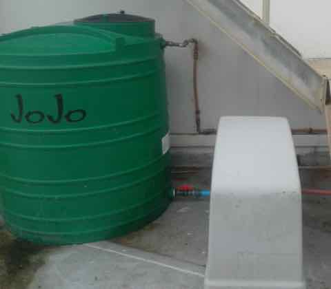 1000l backup water and pressure system
