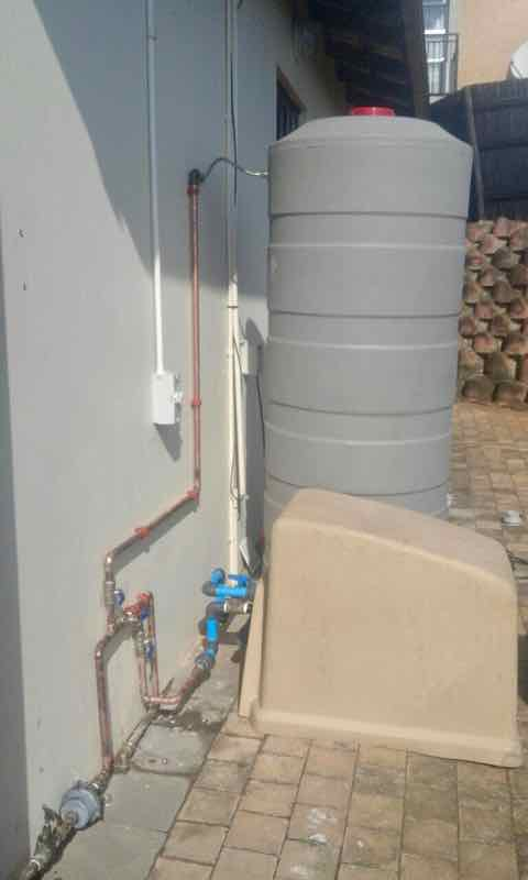 Backup water system for Gusthouse