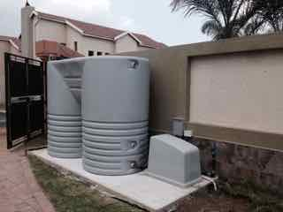 Residential emergency backup water supply