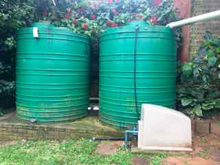Rainwater system for dutban household after 5 years