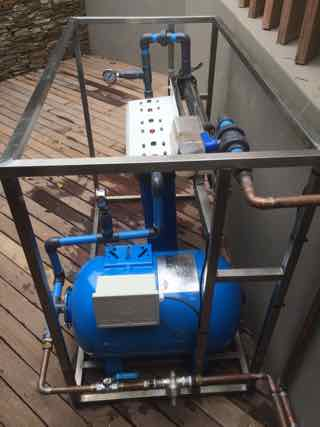 Zimbali water purification unit